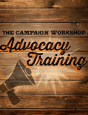sign up for our Advocacy Training!