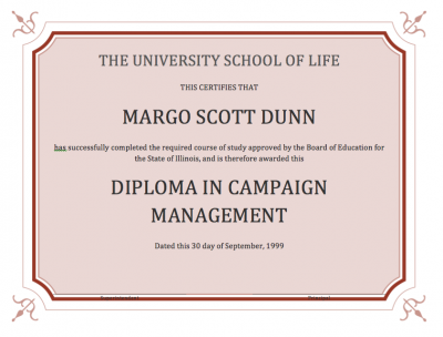 Is Grad School for Campaign Management Worth it
