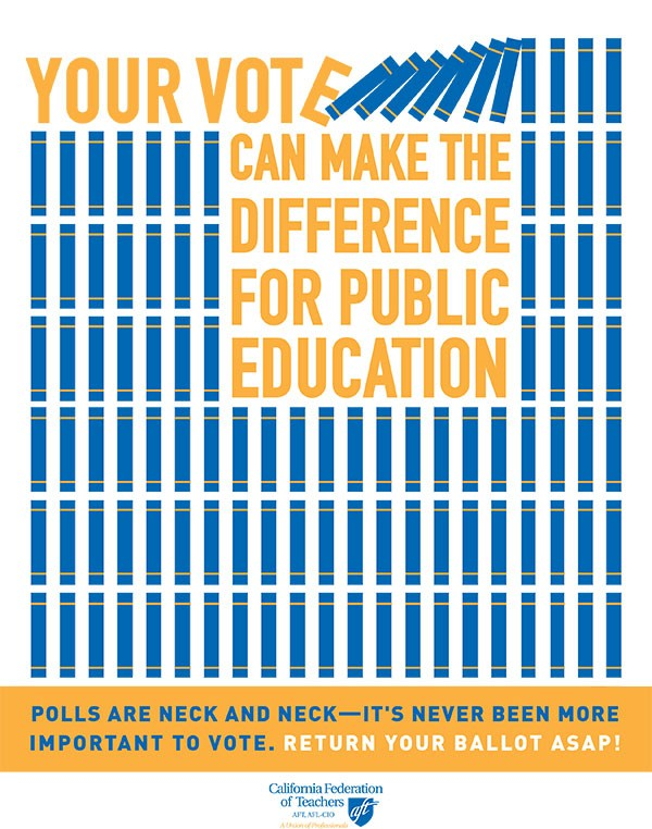 Your Vote Can Make the Difference for Public Education