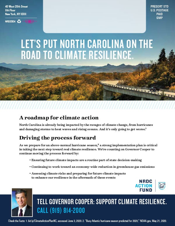 Natural Resources Defense Council advocacy advertisement - page 2