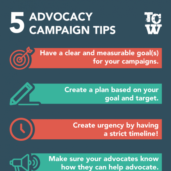 5 Advocacy Campaign Tips
