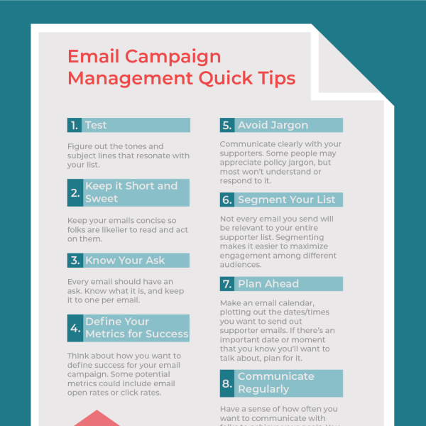 Email Campaign Management Quick Tips