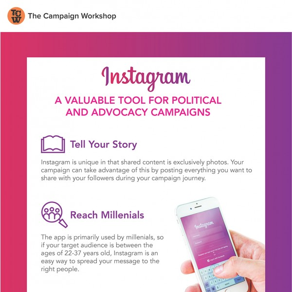 Instagram - A Valuable Tool for Political and Advocacy Campaigns
