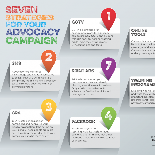 Advocacy Campaign Infographic