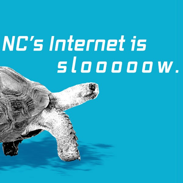 NC's Internet Is Slow