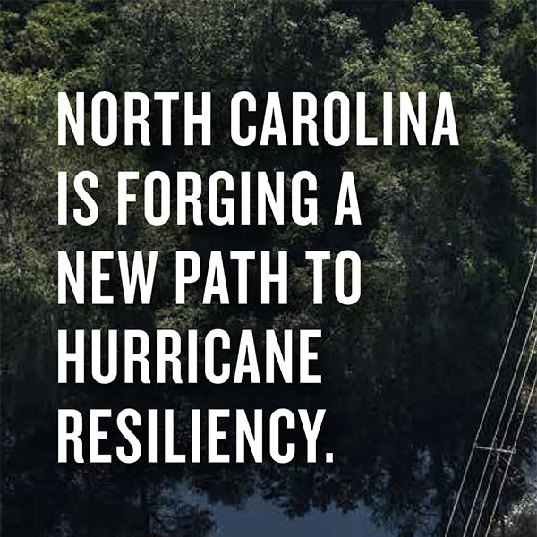 North Carolina is forging a new path to hurricane resiliency
