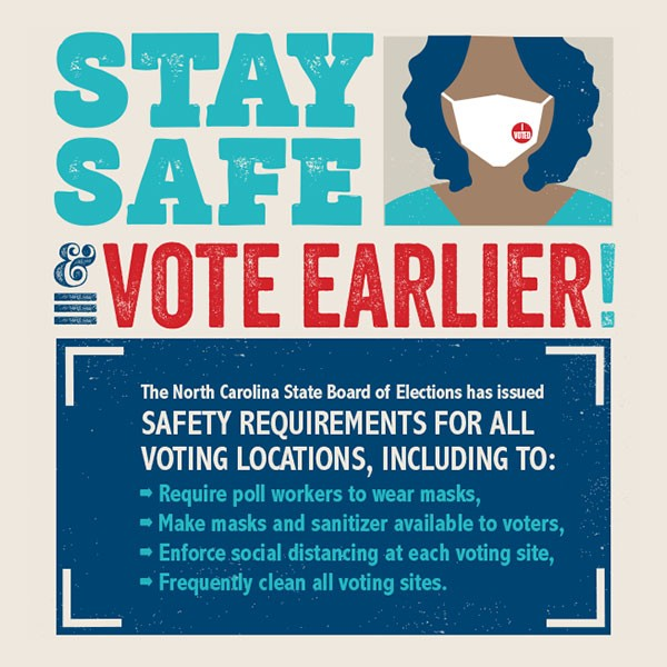North Carolina Safe Voting Guide
