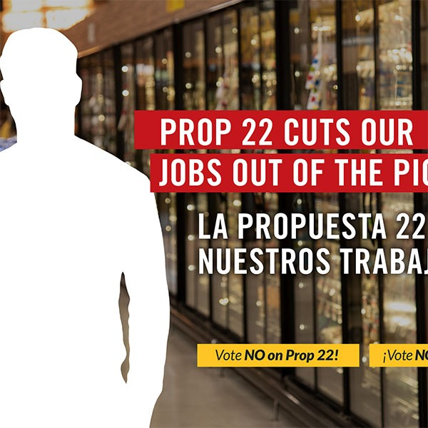 Prop 22 Cuts Our Jobs